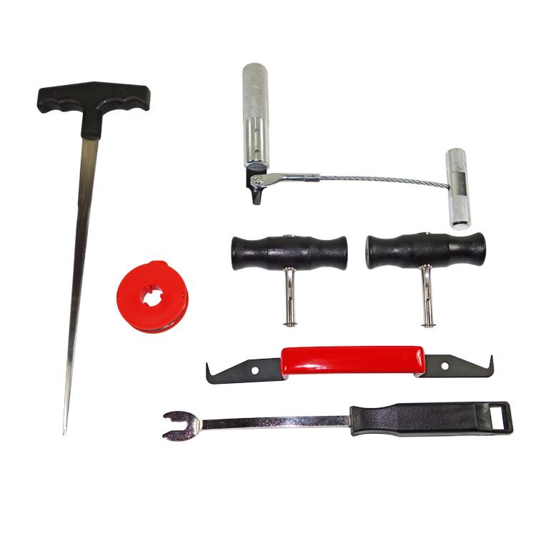 kfz scheiben ausbau werkzeug set 7 tlg windschutzscheibe austauschen autoglas ebay. Black Bedroom Furniture Sets. Home Design Ideas